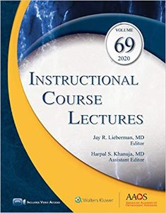 Instructional Course Lectures 2020: Volume 69 (ICL)