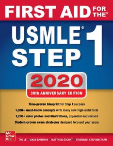 First Aid for the USMLE Step 1 2020 30/e(IE)