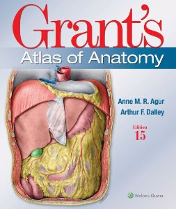 Grant's Atlas of Anatomy ,15/e