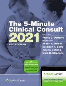 5-Minute Clinical Consult 2021 ,29/e