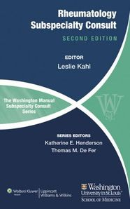 The Washington Manual of Rheumatology Subspecialty Consult, 2/e