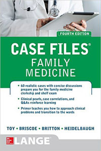 Case Files Family Medicine,4/e