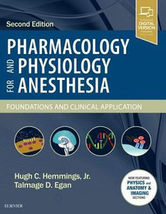 Pharmacology and Physiology for Anesthesia,2/e