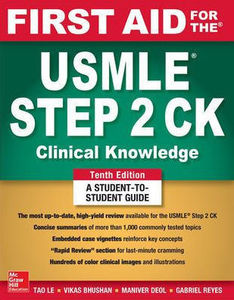 First Aid for the USMLE Step 2 CK,10/e