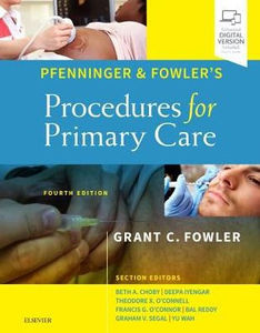 Pfenninger and Fowler's Procedures for Primary Care,4/e