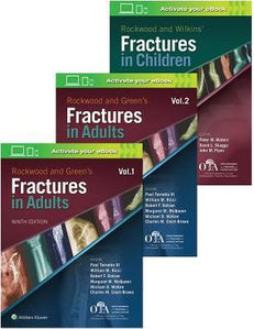 Rockwood and Green's Fractures in Adults and Chldren (3 Vols),9/e(IE)