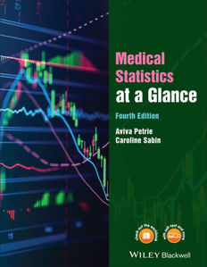 Medical Statistics at a Glance ,4/e