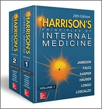 Harrison's Principles of Internal Medicine 20/E (Vol.1 & Vol.2)